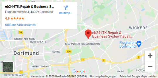 eb24 ITK. Repair & Business Systemhaus Maps Screenshot